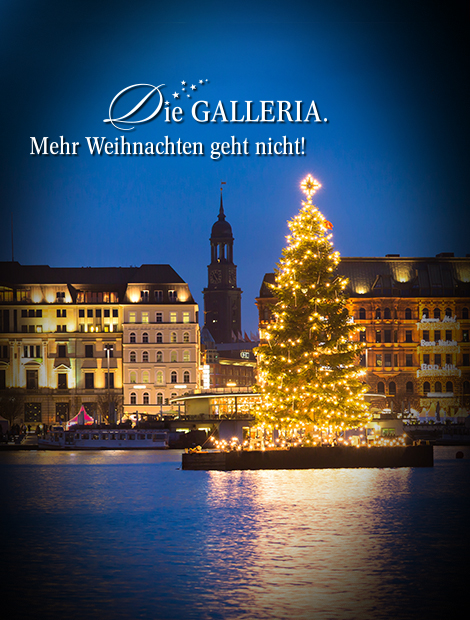 galleria hamburg mehr weihnachten geht nicht galleria. Black Bedroom Furniture Sets. Home Design Ideas