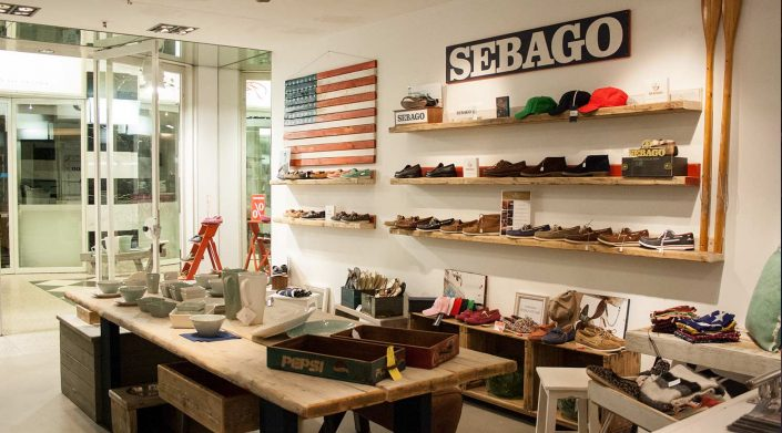 Sebago Hamburg in der GALLERIA Passage Hamburg
