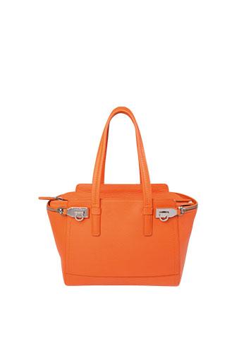 GALLERIA Lofft Designer Store Damenhandtasche orange