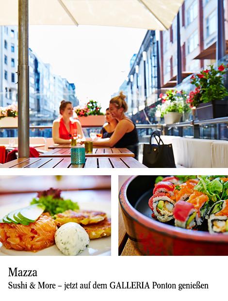 Mazza Sushi & More in der GALLERIA Hamburg - GALLERIA - die Passage