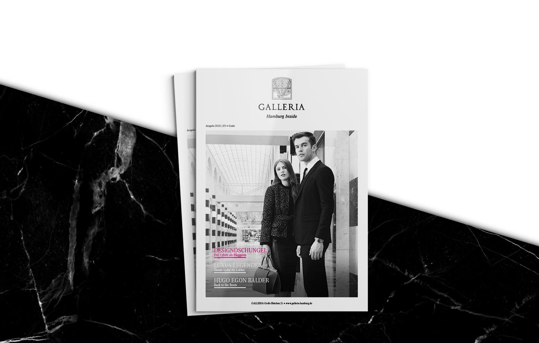 GALLERIA Passage Hamburg Magazin Ausgabe 3