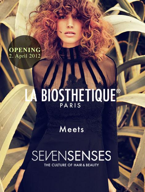 Sevensenses La Biosthetique in der GALLERIA Passage Hamburg