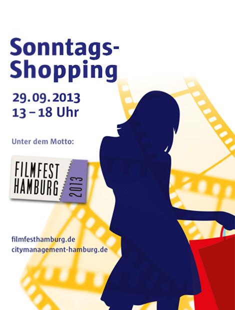 GALLERIA Passage Hamburg Sonntagsshopping Filmfest Hamburg