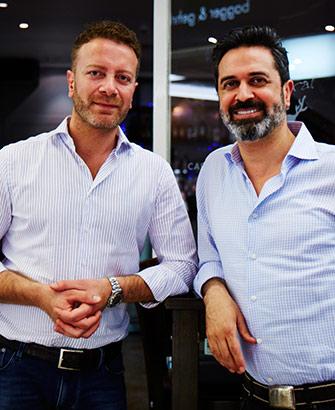 Mazza in der GALLERIA Passage Hamburg Inhaber Inhaber Kifah Saba und Samer Charouf