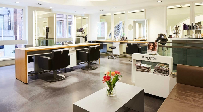 Sevensenses GALLERIA Passage Hamburg Friseur La Biosthetique