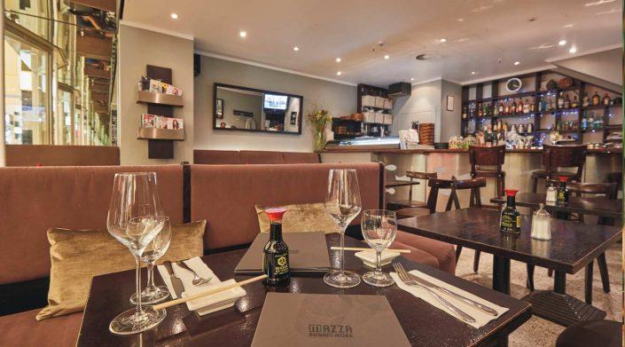 Mazza in der GALLERIA Passage Hamburg Restaurant Große Bleichen