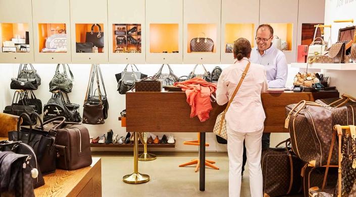 Otten von Emmerich GALLERIA Passage Hamburg Designerhandtaschen