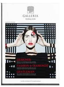 GALLERIA Magazin Hamburg Inside Ausgabe 2.