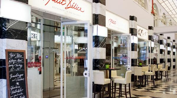 Petit Délice Restaurant Ladenfront