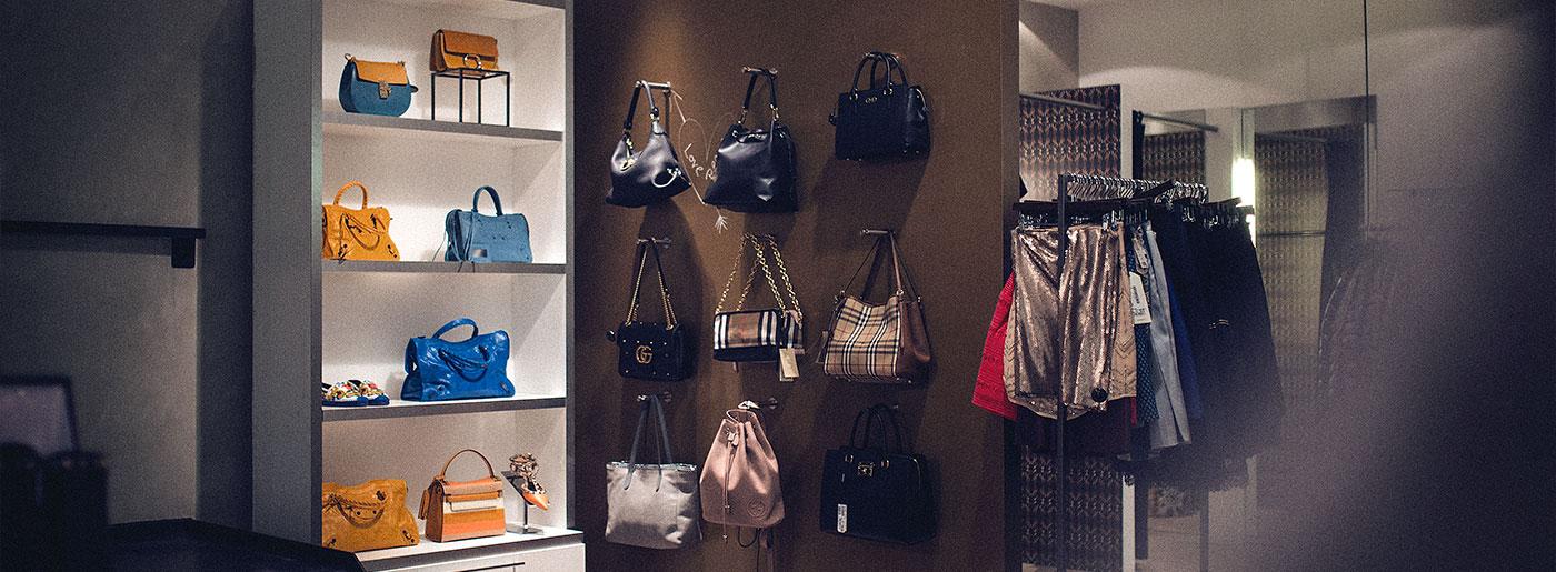 GALLERIA Passage Hamburg Designer Market Tasche Accessoires