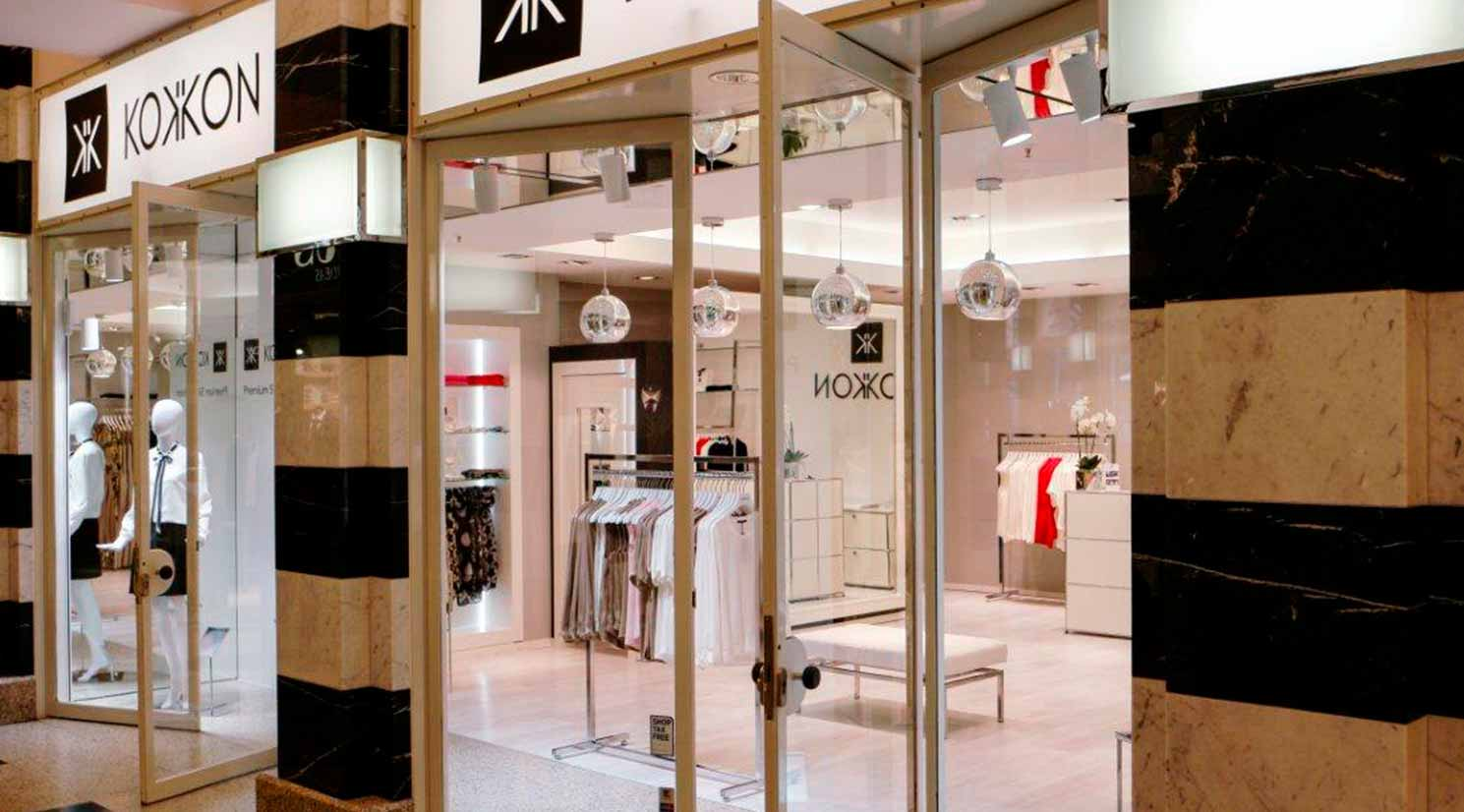KOKKON Seidenmode GALLERIA Passage Hamburg Fashion Store