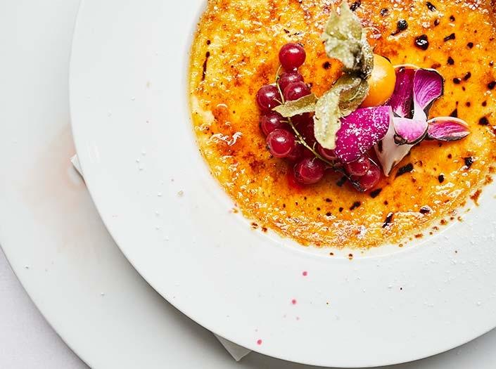 Herbstliche Küche Mittagstisch Hamburger Innenstadt Petit Delice Galleria Passage