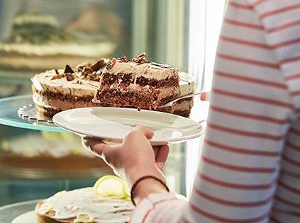 hausgemachte Kuchen Hamburger Innenstadt PrinzKommaBernhard Galleria Passage Hamburg