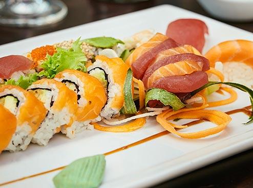 Sushi Hamburg Sushigericht bei Masushi in der GALLERIA Passage