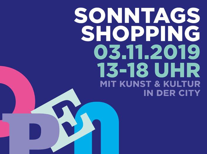 Verkaufsoffener Sonntag am 3. November in der GALLERIA Hamburg