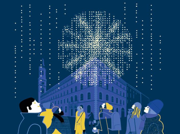 Einpackservice Geschenke Weihnachten Hamburg GALLERIA Passage